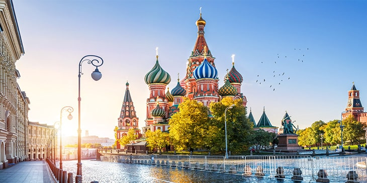 Cheap Flights To Moscow Brightsun Travel India