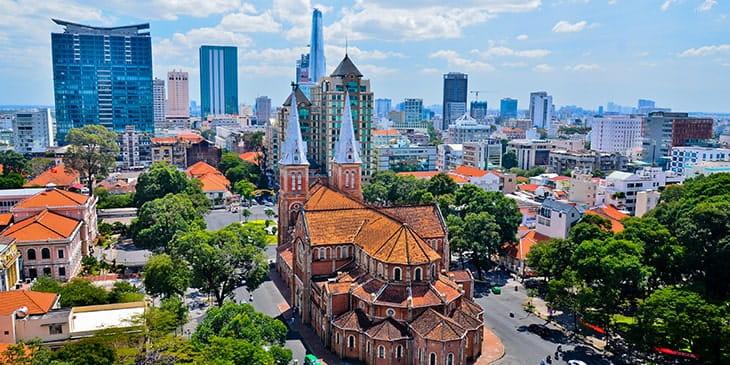 Cheap Flights To Ho-Chi-Minh-City Brightsun Travel India