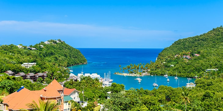 Book Cheap Flights To Saint Lucia With Brightsun Travel India